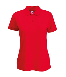 Ladies Embroidered Club Polo Shirt