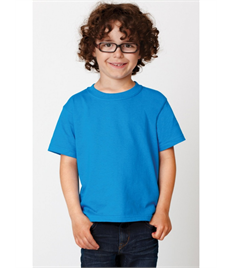 Childrens Printed Turquoise Falcons PE T-shirt