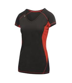 Ladies Regatta V-neck Running T-shirt