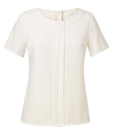 Prestige Ladies Plain Short Sleeve Shirt