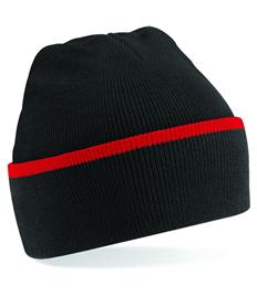 Rushden Runners Black/Red Beanie