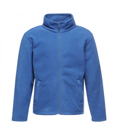 Alfred Street Embroidered Childrens Royal Blue Fleece